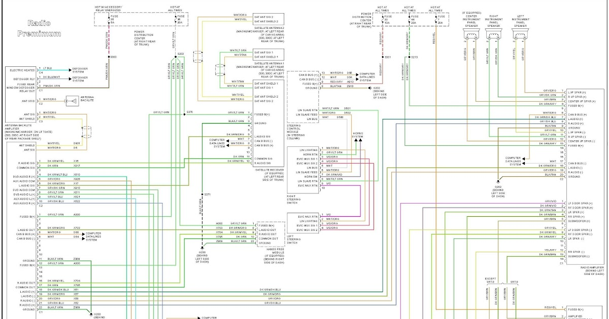 Wiring Diagram For Stereo 1997 Es 300 | schematic and ...