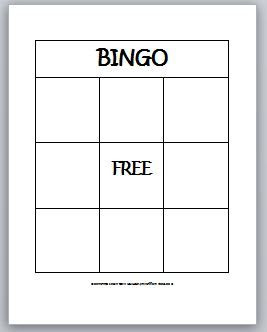 1000+ ideas about Blank Bingo Cards on Pinterest | Simplest form ...