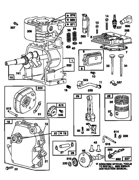 BRIGGS & STRATTON ENGINE BRIGGS & STRATTON Parts | Model