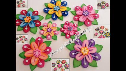 Flores en foami para decorar paredes imagui - Flores para decorar paredes ...
