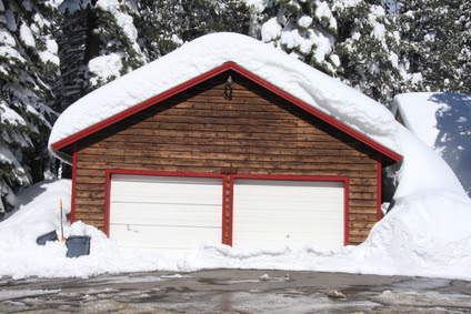 Why You're Having Trouble With Your Garage Door in Winter