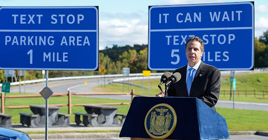 New York Creates 'Texting Zones' to Stop Car Accidents