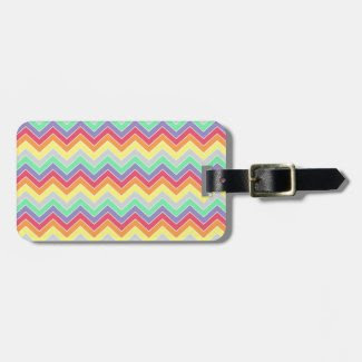 Candy Coated {chevron pattern}