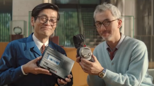Sony shows off its aspirational side in Golden Globes ad
