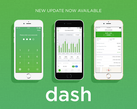 It's here! Download the latest version of Dash today.