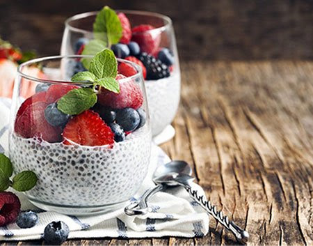 Berry Chia Pudding - The Fit Ninja