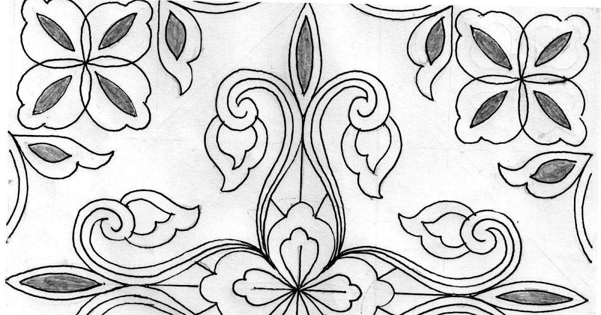 Motif Batik Mudah Untuk Anak Sd   Batik Indonesia