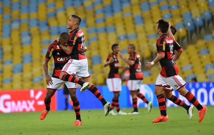 Marcelo Cirino, gol Flamengo x Barra Mansa (Foto: André Durão / Globoesporte.com)