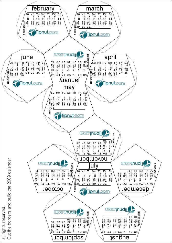 dneteralep: 2011 calendar printable one page free