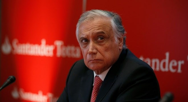 Presidente do Santander morre em Portugal vítima do coronavírus