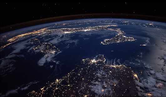 A Stunning Timelapse of Earth's Orbit Created Using 4K Footage Taken Aboard the International Space Station