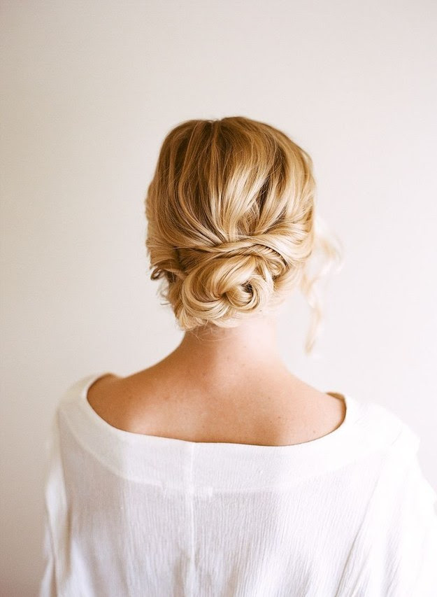 Easy Hair Updos For Wedding | Hair Color Ideas and Styles for 2018