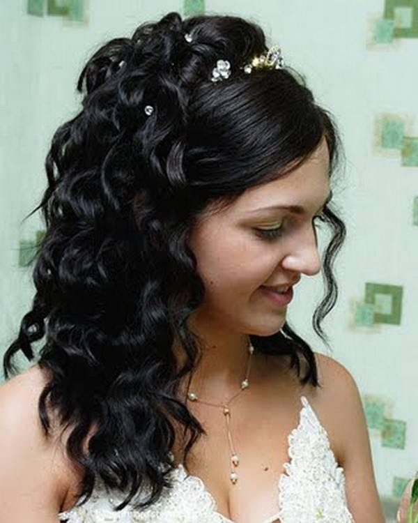 Wedding Hairstyles Dark Hair