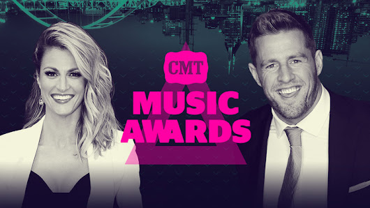 JJ Watt and Erin Andrews To Host CMT Music Awards | ACountry