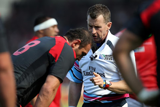 The wit and wisdom of RWC 2015 final referee Nigel Owens