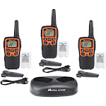 Midland X-TALKER T51X3VP3 28-mile Two-way Radio 3 Pack - FRS/GMRS - 462.55-467.71 MHz - 10 NOAA Channels - Waterproof