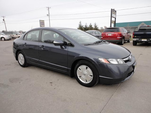 Used 2008 Honda Civic Hybrid for Sale in Des Moines IA 50313 Reliable Motors