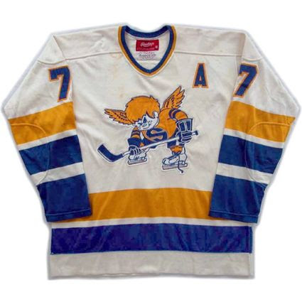 Minnesota Fighting Saints 75-76 jersey, Minnesota Fighting Saints 75-76 jersey