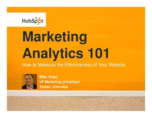 Marketing Analytics 101: How to Measure the Effectiveness of Your Web…