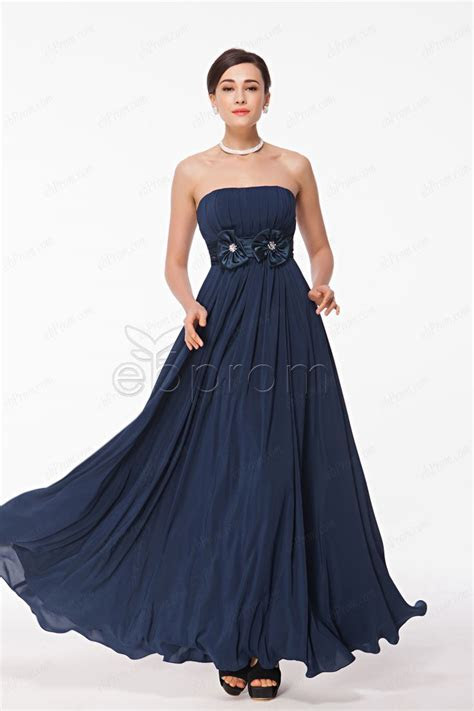 Navy blue strapless bridesmaid dresses   Navy, Products