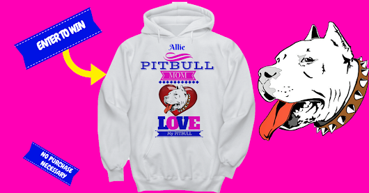 Pin To Win This Beautuful Pitbull Mom Hoodie