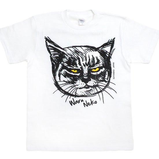 ワル猫tシャツ Smile