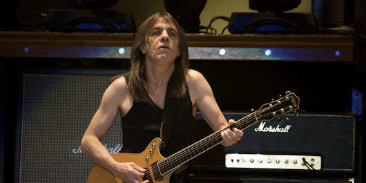 AC/DC guitarist and co-founder Malcolm Young dies, aged 64