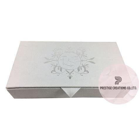 Silver Foil Wedding Invitations & Monogram Foil Stamped