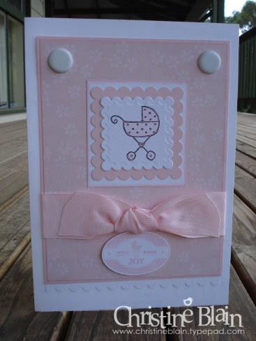BABY CARD FOR MATT & JO