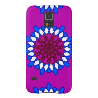 Giant Mandala Design on Samsung Galaxy S5 Galaxy S5 Cover