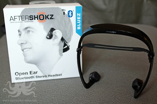 Test : AfterShokz Bluez ou le casque BlueTooth à vibration osseuse