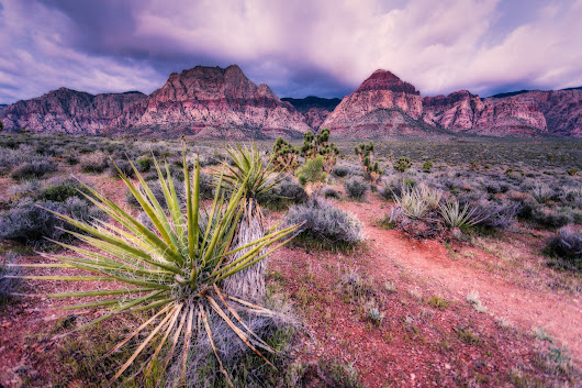 Spring Clouds Over Red Rock – Douglas Sandquist DDS