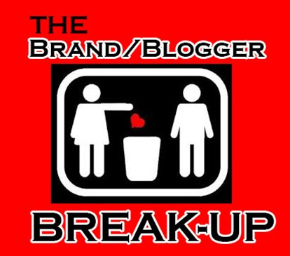 "The Brand/Blogger Break Up: When a brand doesn't understand what the ""R"" in IRM represents."