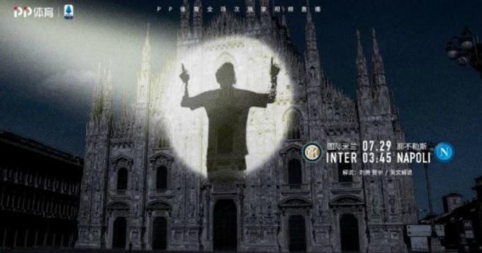 Messi all'Inter, la tv di Suning in Cina lascia un indizio: quell'ombra proiettata sul Duomo - Il Fatto Quotidiano