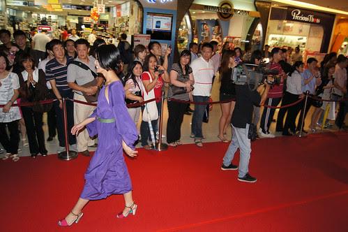 Arrival of Joanne Peh