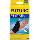 Futuro Deluxe Thumb Stabilizer, Black, S/M