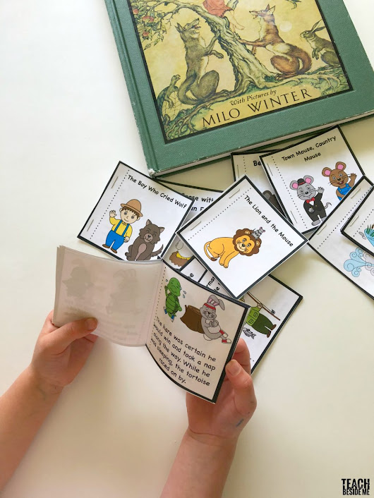 Aesop's Fables Printable Books - Teach Beside Me
