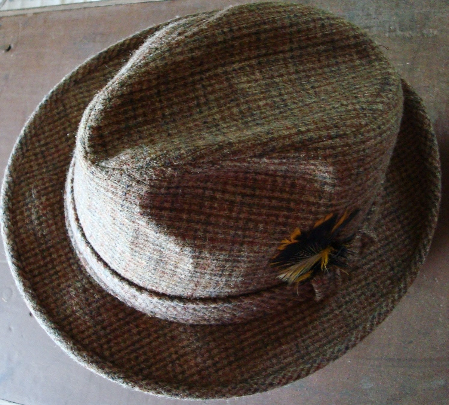 Vintage Fedora, for You (or the Stylish and Manly Man in Your Life)