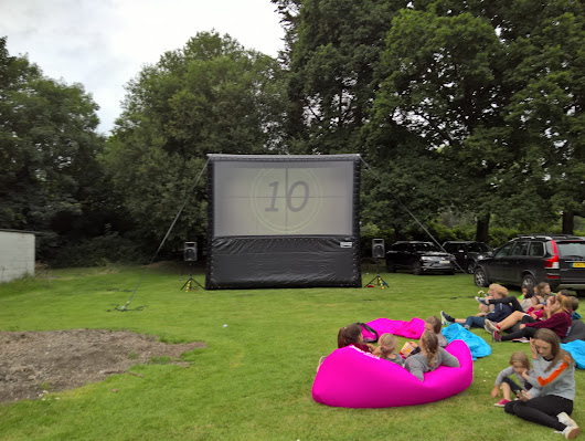Outside Cinema Hire, Open air cinema, Mobile Outdoor Cinema