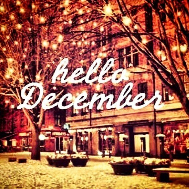 Hello December Christmas City Quote Image Pictures Photos And