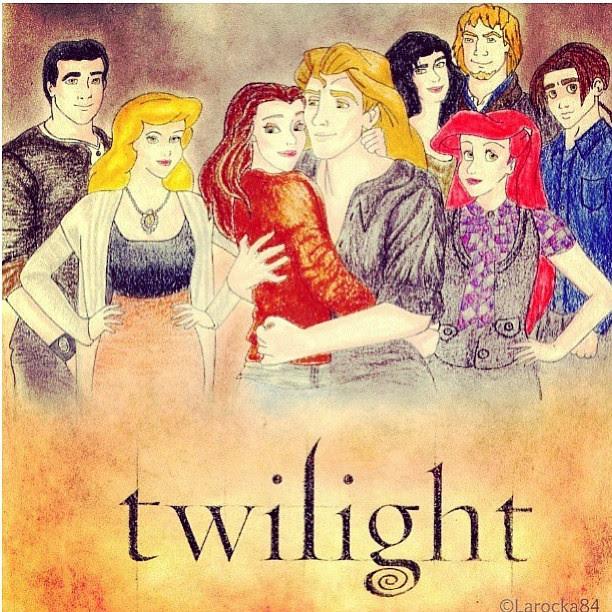 Twilight: disney edition. Let ur childhood be ruined. # ...