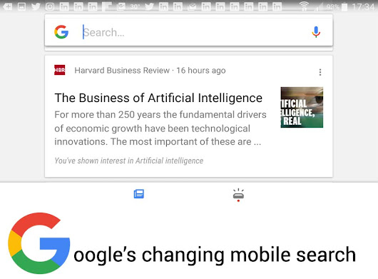 Mobile Google Search Gets Personal
