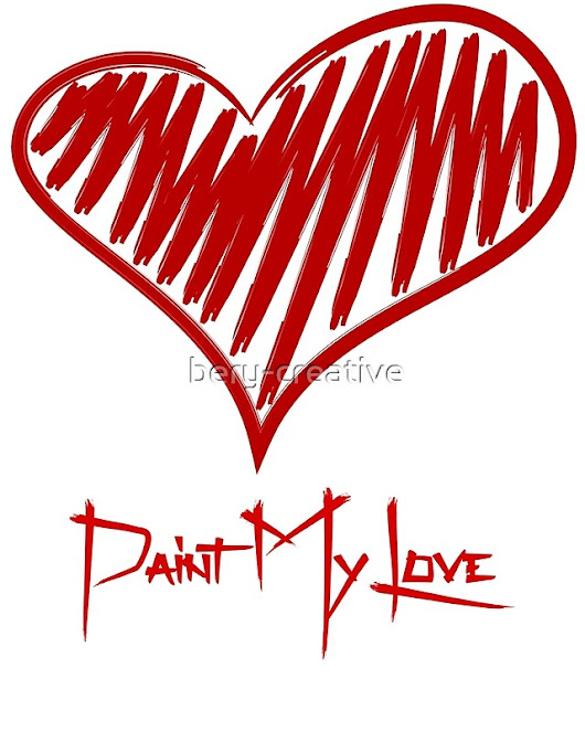 'Paint My Love'  by bery-creative
