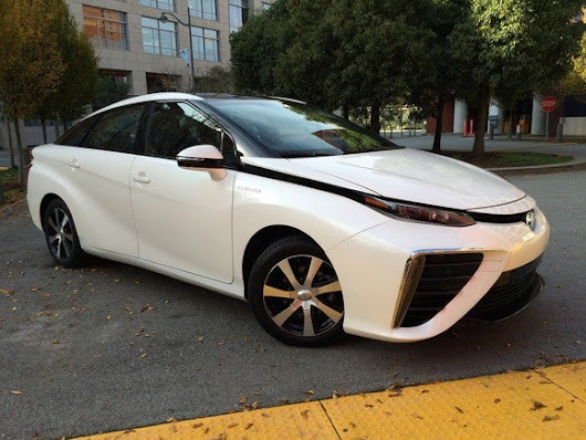 Here's everything Toyota will give you if you buy the hydrogen-powered Mirai