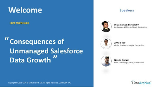 Consequences of Unmanaged Salesforce Data Growth
