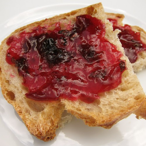 Apricot, Blueberry & Basil Jam