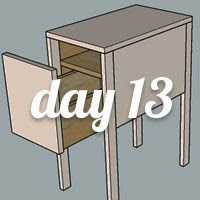 DIY Nightstand Day 13