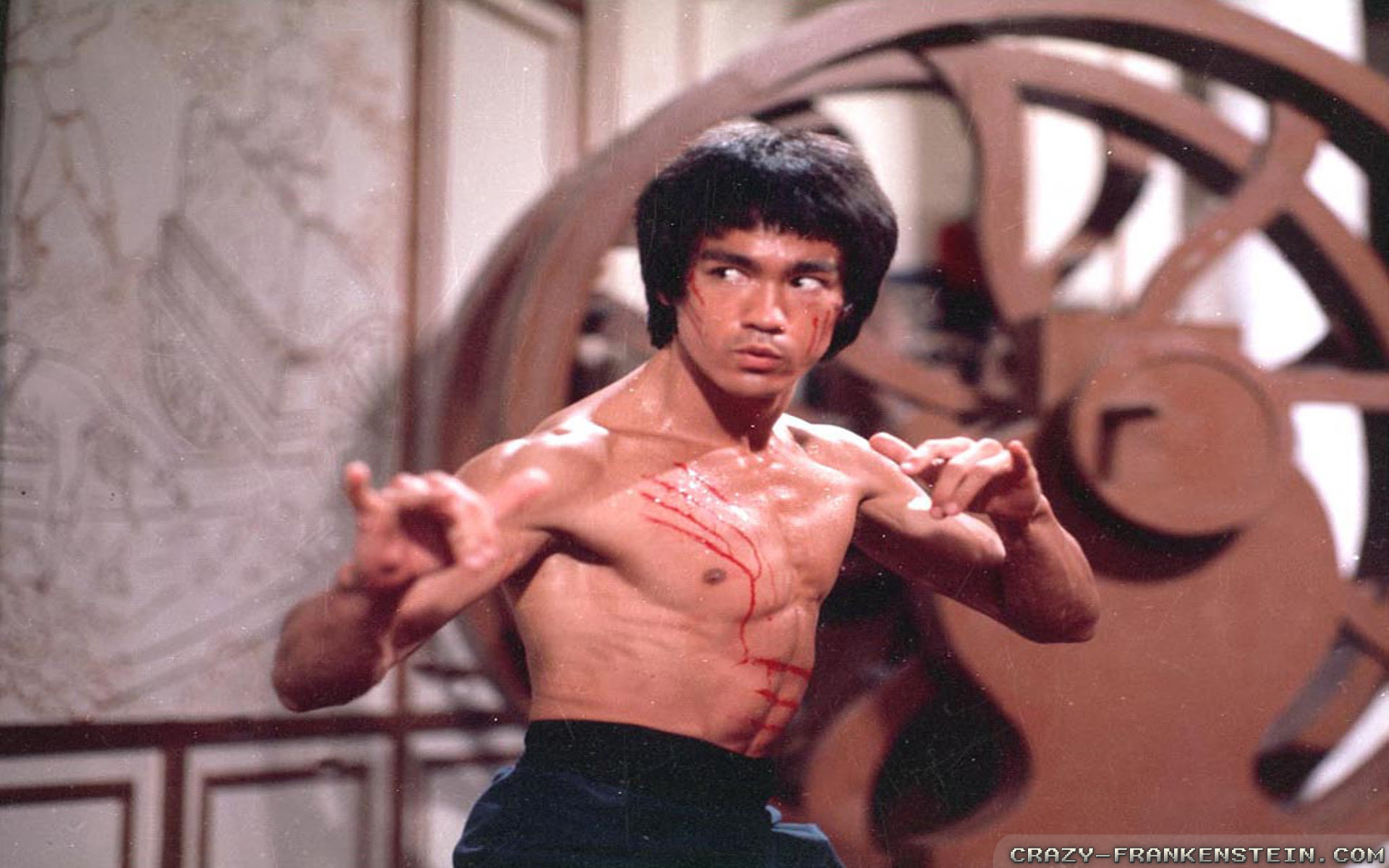 Bruce Lee Wallpapers Male Celebrity Crazy Frankenstein