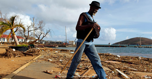 'For first time in 300 years, there's not a single living person on the island of Barbuda'