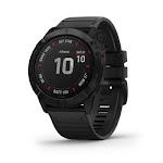 Garmin Fenix 6X PRO Black GPS Watch with Black Band